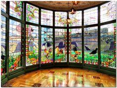 APU Barcelona VeoDigital : La Casa Lleó i Morera, la joya modernista abre sus puertas al mundo.
