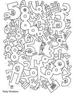 Dover Publications and Dover Books – Classic literature, coloring books, children's books, music books, art books and Mazes For Kids, Worksheets For Kids, Fun Math, Activities For Kids, Colouring Pages, Coloring Books, Hidden Pictures, Math Numbers, Home Learning