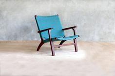 Hammock Arm Chair in Deep Green  with by MasayaTradingCompany
