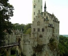 Lichtenstein castle, Black forest    Lichtenstein castle, in the Black Forest,