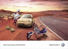 Volkswagen Beetle: Life's less serious when you drive New Beetle