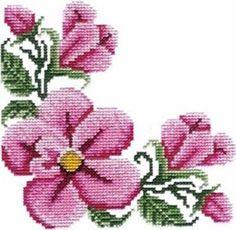 Corners - Machine Cross Stitch Embroidery Designs