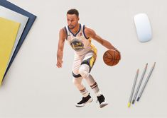 low priced f4d24 e575d Fathead s Stephen Curry - Large Officially Licensed NBA Removable Wall  Decal is a small decal perfect