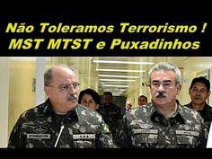 """GENERAL DIZ : """"  NÃO VAMOS TOLERAR MST, MTST , NÃO SOMOS BOLIVARIANOS """" !"""