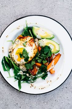 Epic Savory Breakfast Bowl | TENDING the TABLE