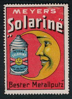 Meyers Solarine vintage advertising