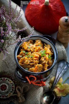 Bigos z dynią Simply Recipes, Vegan Recipes Easy, Cooking Recipes, Chana Masala, Nutella, Lunch, Salad, Homemade, Ethnic Recipes