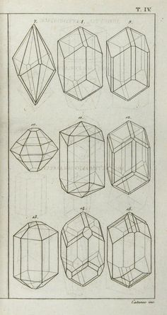 Good Examples for Construction Drawing Students Matteo Tondi, Elementi di Orittognosia, 1817