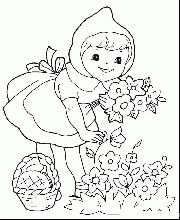 Here are the Perfect Little Red Riding Hood Pictures For Kids Colouring Pages. This post about Perfect Little Red Riding Hood Pictures . Free Printable Coloring Pages, Free Coloring Pages, Coloring Sheets, Coloring Books, Coloring Pages For Girls, Cartoon Coloring Pages, Coloring For Kids, Red Riding Hood Party, Red Hood