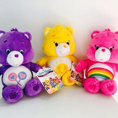 "Care Bears Plush! Available at Walmart, Target, and Toys""R""Us!"