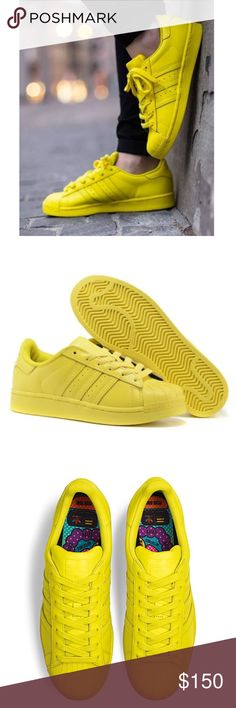 8becbf12b5824 Adidas x Pharrell Superstar  Supercolor