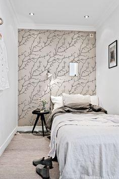 Interior Design Ideas for Bedroom - Interior Design Ideas for Bedroom, 37 Best Small Bedroom Ideas and Designs for 2020 One Room Apartment, Apartment Interior, Studio Apartment, One Bedroom, Bedroom Sets, Bedroom Decor, Small Apartments, Small Spaces, Bedroom Set Designs