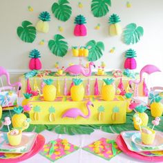 Get ready to 🍍 party like a pineapple 🍍with our Fruity Flamingo Party, live over on . Flamingo Party, Flamingo Birthday, Luau Birthday, 10th Birthday Parties, Girl Birthday Party Themes, Birthday Ideas, Hawaian Party, Luau Party, Craft