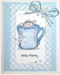 Stampwilly Designs: January 2018 House Mouse Stamps, Spectrum Noir Markers, Mouse Color, Lavinia Stamps, House Of Cards, January 2018, Cute Cards, Mice, I Card