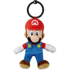 NINTENDO - Peluche Mario Bros Mascot 14cm Mario