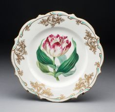 Spode Pottery & Porcelain Factory English, founded 1776 Coalport and Coalbrookdale Porcelain Factory English, founded 1796 Plate (part of a ...