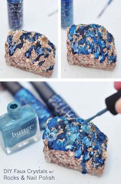 31 Incredibly Cool DIY Crafts Using Nail Polish