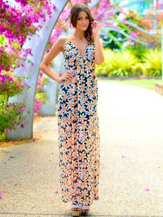 Lockdown Maxi dress at Mura boutique 2013 style
