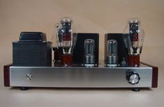 346.88$  Watch now - http://aliqsb.worldwells.pw/go.php?t=32727419347 - Factory direct explosion limited berserk 300B directly heated triode amplifier power amplifier kit which have a fever dream 346.88$