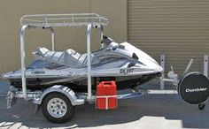 Image result for diy jet ski fishing rack