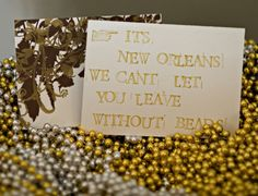wedding beads for a festive New Orleans celebration  Photography by nbpimages.com