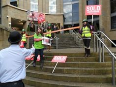 Activists were out campaigning this weekend, check out Laura's blog about what was happening in Glasgow http://www.oxfam.org.uk/scotland/blog/2012/12/sold-to-greedy-investors-royal-concert-hall-city-chambers-and-the-gallery-of-modern-art