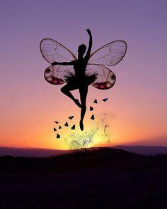 sunset faerie