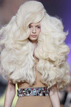 Phenomenal 1000 Images About Look Locos On Pinterest Avant Garde Crazy Short Hairstyles Gunalazisus