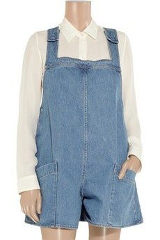 $825 denim overalls? Stella McCarthy is punking us, right?