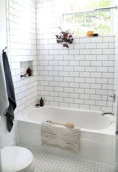 Inspiration Photo of Best Rustic Farmhouse Bathroom Flooring Ideas. Best Rustic Farmhouse Bathroom Flooring Ideas Beautiful Farmhouse Bathroom Remodel From Small Closet Bad Inspiration, Bathroom Inspiration, Shower Remodel, Bath Remodel, Guest Bathroom Remodel, Modern Farmhouse Bathroom, Farmhouse Small, Rustic Farmhouse, Urban Farmhouse