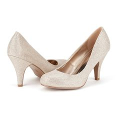DREAM PAIRS ARPEL Women's Formal Evening Dance Classic Low Heel Pumps Shoes New