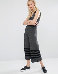 Native Youth | Native Youth Wide Leg Knitted Jumpsuit