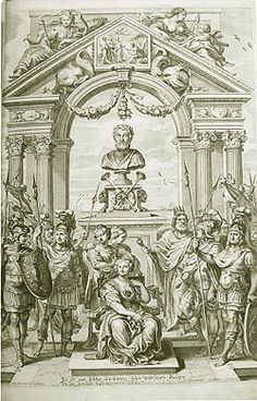ARCH from Wenceslas Hollar's engraved title page of a 1660 edition of the Iliad, translated by John Ogilby.---via....Iliad - Wikipedia, the free encyclopedia