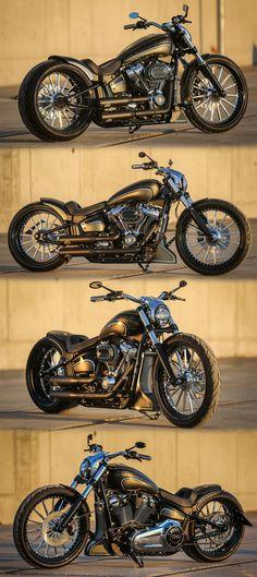 """Thunderbike customized """"Ego Style"""" Harley-Davidson Softail Breakout 2018 #harleydavidsonbreakout2018 #harleydavidsonbreakoutcustom #harleydavidsonsoftailcustom #harleydavidsonsoftailbreakout"""