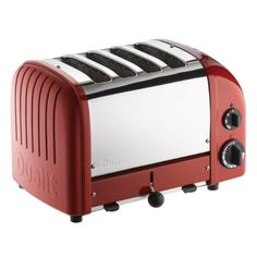Red Retro Toaster