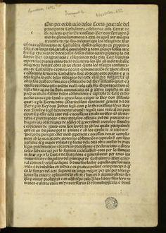 Usatges de Barcelona :: Incunables (Biblioteca de Catalunya)