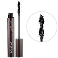 What it is:A mascara that offers multiple fringe benefits in one full-spectrum formula.What it does:Film Noir's signature hourglass-shaped brush is designed for optimal application, adding volume, length, lift, and separation to lashes. The intense c