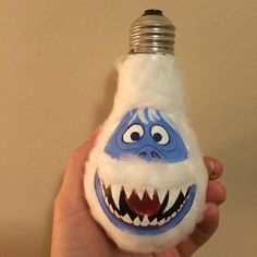 """Hand-painted """"Bumble"""" Christmas ornament (2015)"""