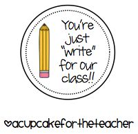 A Cupcake for the Teacher: End of Year and Beginning of Year Craftivity! Plus a Freebie :)