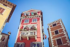 Balcony in Rovinj, Croatia Travel Nursing, Travel Reviews, Pink Houses, Best Investments, City Break, Beautiful Places To Visit, Travel And Leisure, European Travel, Trip Advisor