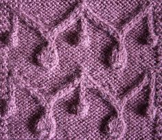 Yarn: generic wool/acrylic blend 20%/80% Wraps Per Inch: 10 wpi Needles: 3mm aluminium (prym) Gauge: 26 st and 36 rows to 10cm/4 inches in pattern Pattern: Garland with Pendants Stitch Count Repeat...
