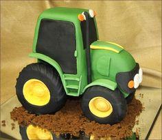 Novelty Farmer Tractor Cake