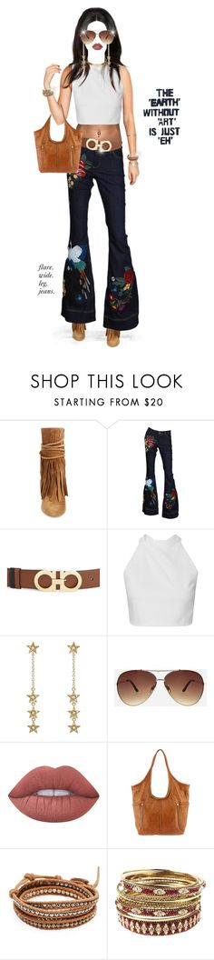 Art Inspires Fashion. by shellygregory on Polyvore featuring Alice + Olivia, Frye, Amrita Singh, Chico's, Jennifer Meyer Jewelry, Chan Luu, Salvatore Ferragamo, Ashley Stewart, Lime Crime and flarejeans