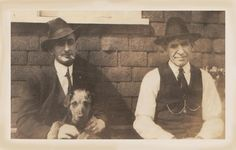 """""""Two Blokes and an Airedale""""."""