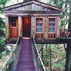 Treehouse Point in Fall City, Washington | 16 Hotels That Are So Cool You'll Want To Stay Forever