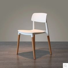 144.13$  Watch now - http://aliiax.worldwells.pw/go.php?t=32764134781 - Designer Modern Chair For Dining Room White Color 144.13$