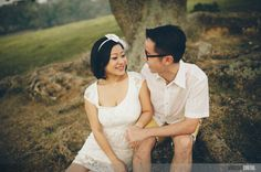 Pre-wedding engagement photo by VINCENT CHENG PHOTOGRAPHY http://vincentcheng.net