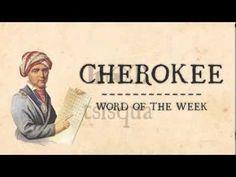 CHEROKEE WORD OF THE WEEK- BIRD