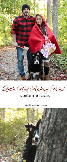 DIY Little Red Riding Hood Halloween Costumes by MichaelsMakers Craftberrybush
