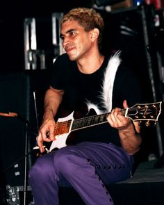 I have always thought Pat Smear was sexy as hell.  When I was a teenager, I wanted to marry him so my initials would be PMS.  I guess I could still make that happen, the initials thing anyway.